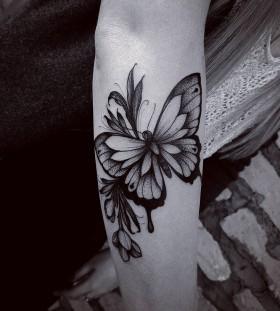 floral-butterfly-tattoo-by-fetattooer