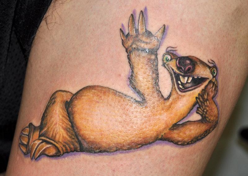 Funny Sid tattoo