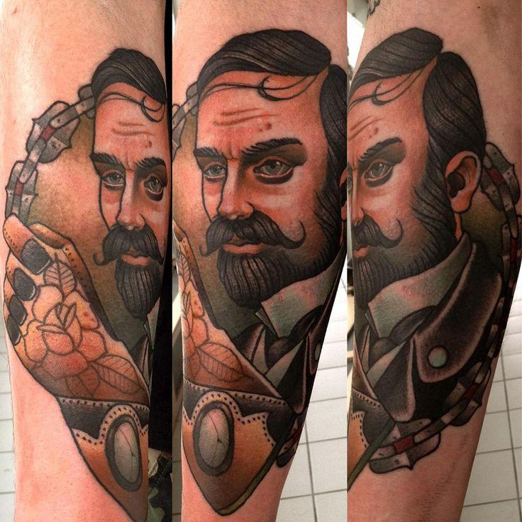 Gentelman tattoo by Alex Dorfler