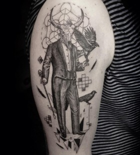 Gentleman tattoo