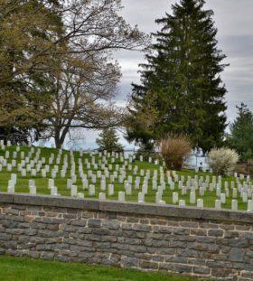 Gettysburg Battlefield in Pennsylvania