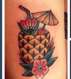 Great simple lovely fruit tattoo