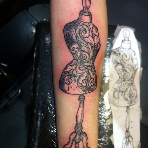 Great tattoo by Flo Nuttall