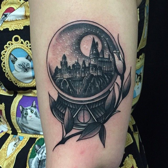 Great town tattoo design