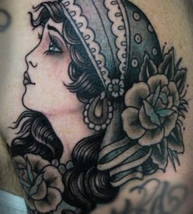 Gypsy tattoo by W. T. Norbert
