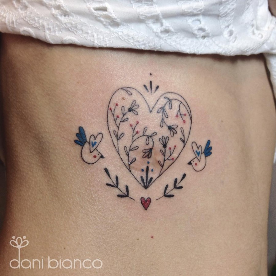 Fine Line Tattoos by Dani Bianco