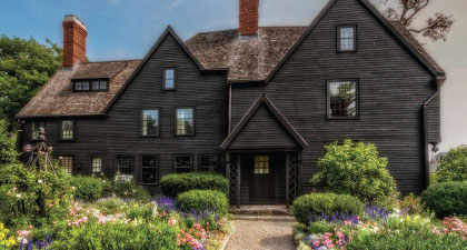 House of the Seven Gables in Massachusetts