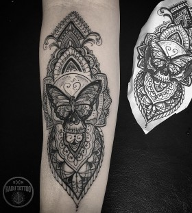 intricate-butterfly-tattoo-by-kadutattoo