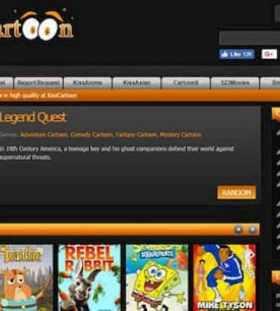 Kisscartoon Website