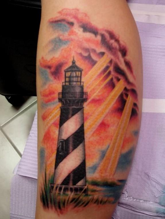 6dab21c62 Lighthouse and sunshine tattoo - | TattooMagz › Tattoo Designs / Ink ...