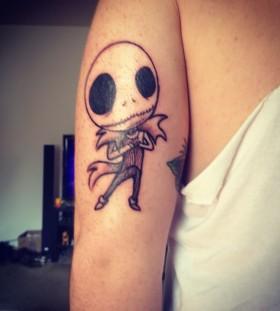 Little jack skellington tattoo