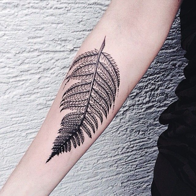 Lovely tattoo by Jessica Svartvit