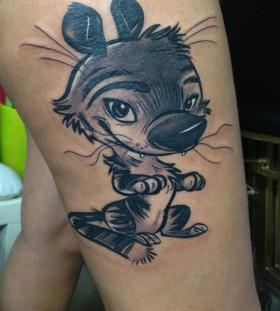 Lovely tattoo by Razvan Popescu