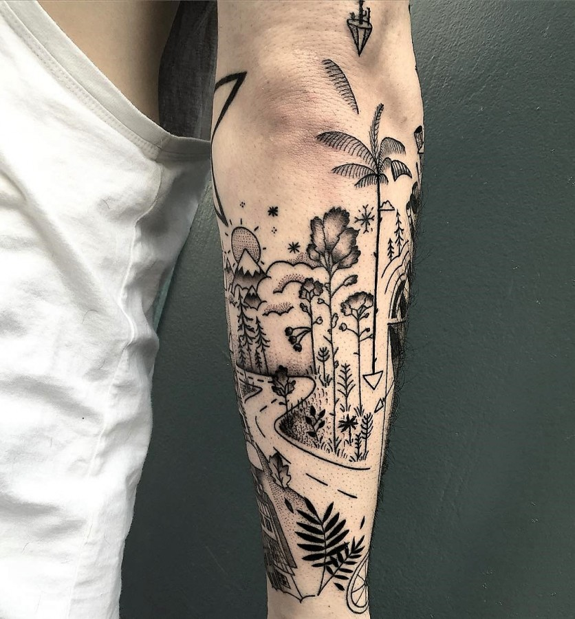 mast-cora-bleunoir-road-blackwork-tattoo