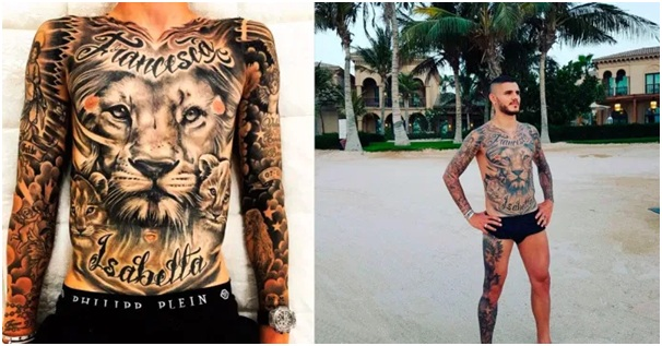 tattoos of soccer players