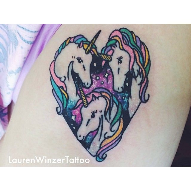 Miracles heart and tattoo by lauren winzer