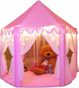 Monobeach Princess Large Playhouse With Stars