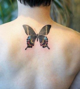 neat-butterfly-tattoo-by-nandotattooer