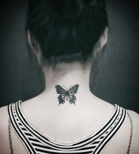 neck-butterfly-tattoo-by-enta_tattoo