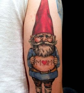 Nice dwarf tattoo by Esther Garcia