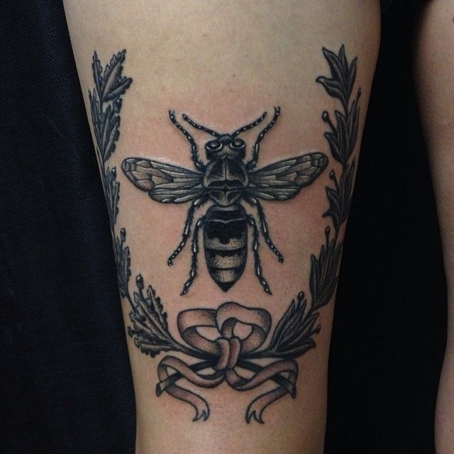 Nice fly tattoo design