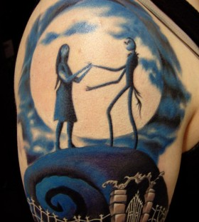 Nice jack skellington tattoo