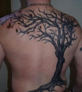 Old oak back tattoo
