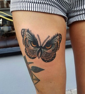 owel-eyes-butterfly-tattoo-by-chrisstockings