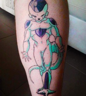 Perfect Frieza leg tattoo