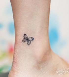 petite-ankle-butterfly-tattoo-by-graffittoo