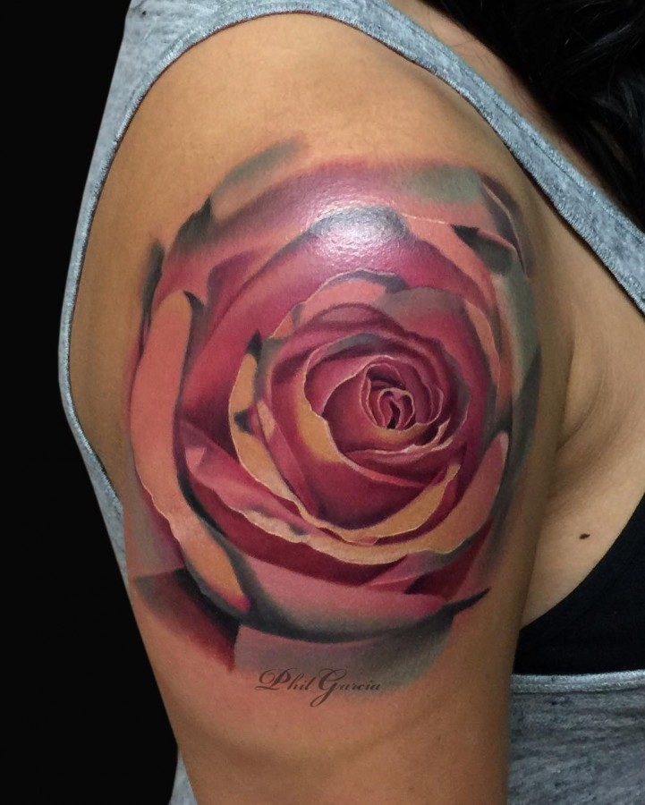 pink-rose-tattoo-by-phil-garcia