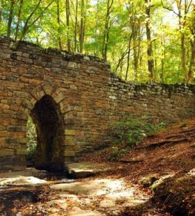 Poinsett Bridge in Greenville, South Carolina