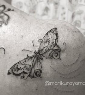 pretty-butterfly-tattoo-by-marikuroyama