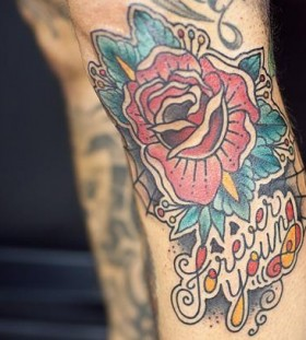 Pretty rose tattoo by Pepe Vicio