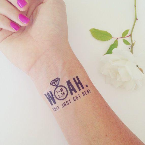 Pretty wrist bride tattoo