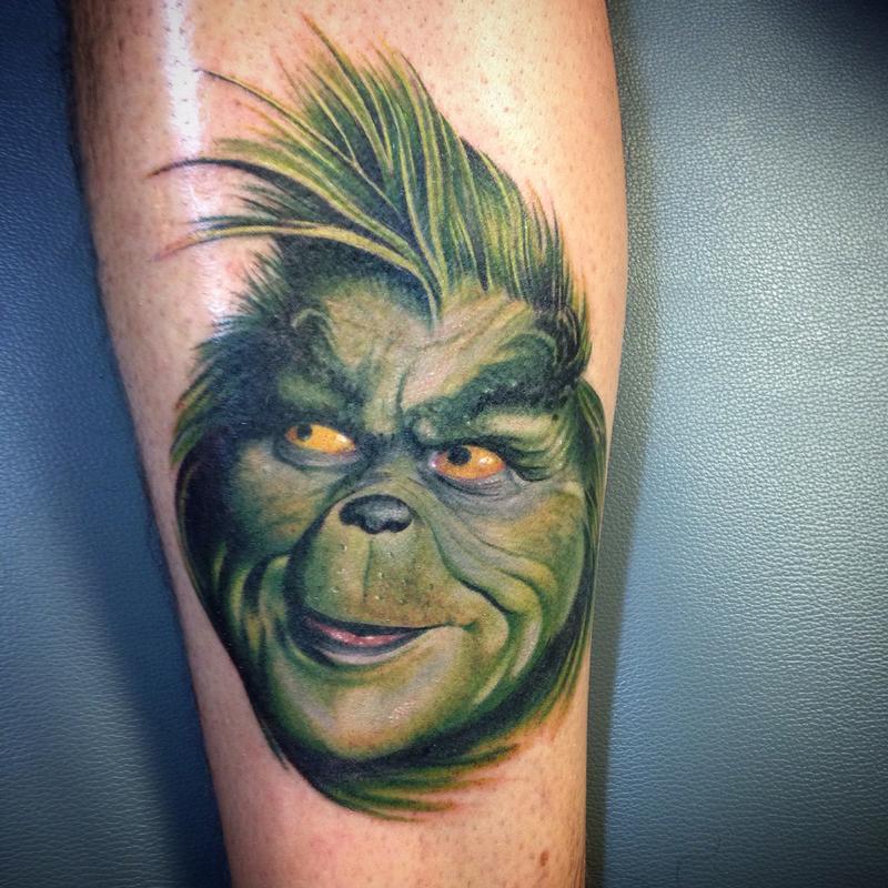 Grinch Tattoos