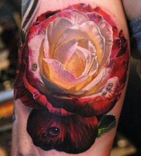 2321bcb74 Violet flower tattoo by Phil Garcia - | TattooMagz › Tattoo Designs ...