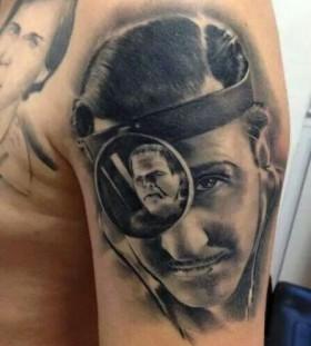 Realistic tattoo by Razvan Popescu