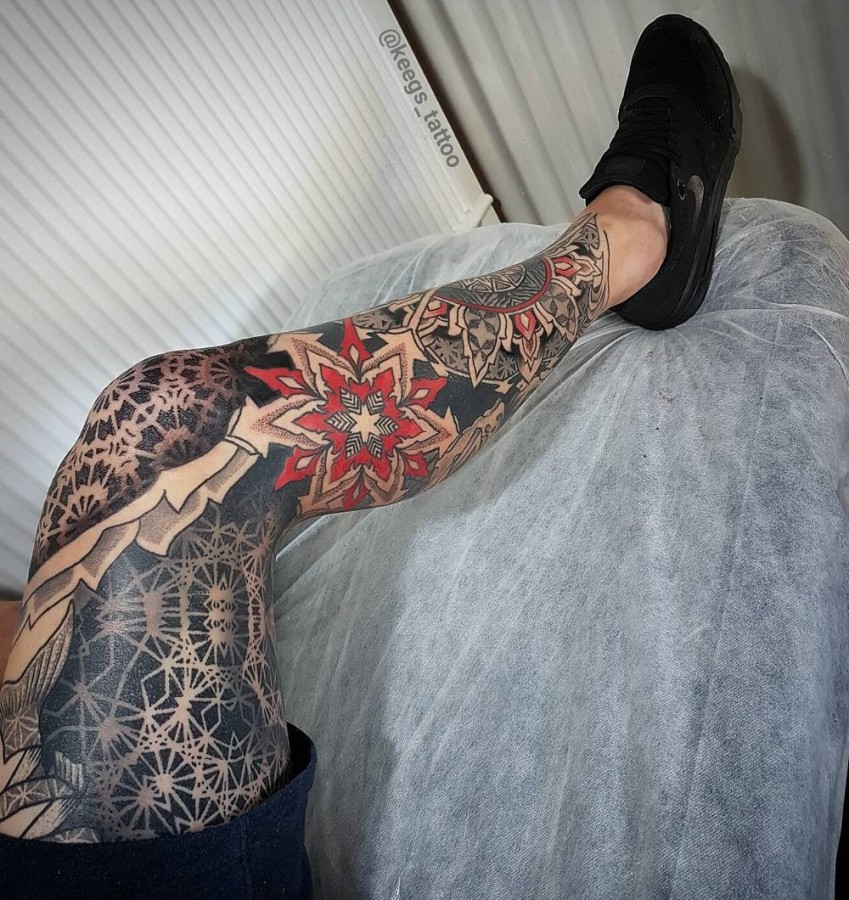Mandala Sleeve Tattoos