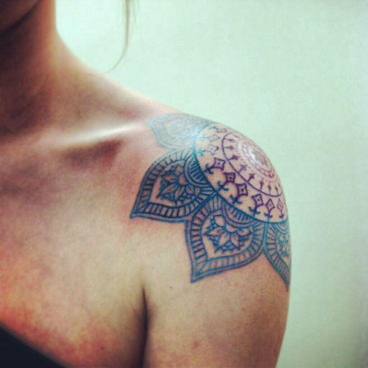 b5318c38b Red and green mandala tattoo - | TattooMagz › Tattoo Designs / Ink ...
