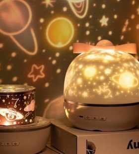 Rotating Star Projector Night Light