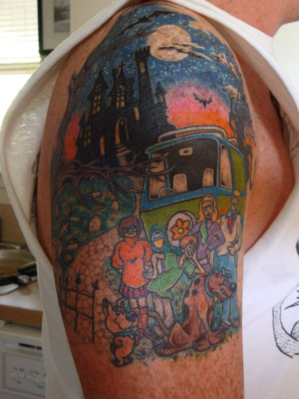 Scooby doo and the gang tattoo