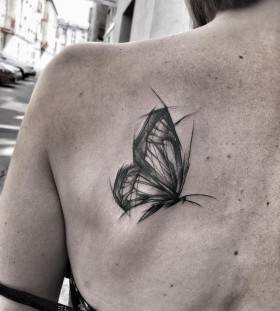shoulder-blade-butterfly-tattoo-by-ineepine