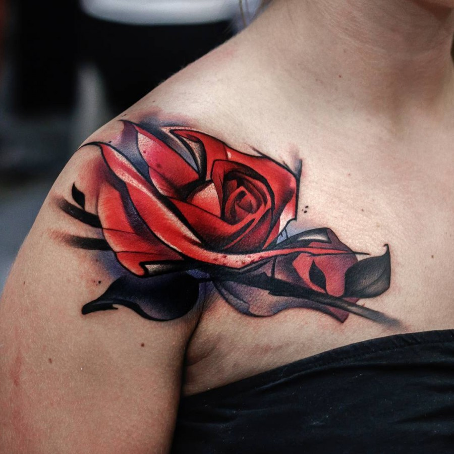shoulder-red-rose-tattoo-by-uncl-paul-knows