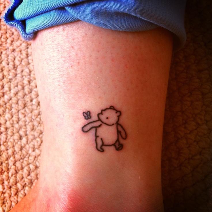 Simple winnie the pooh tattoo