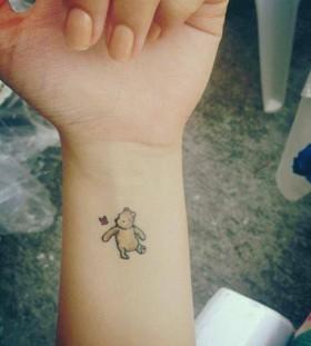 Small winnie the pooh tattoo