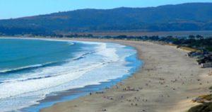 Stinson Beach in Marin County