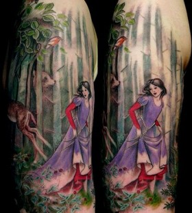 Stunning tattoo by Esther Garcia