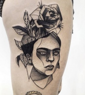 Stunning tattoo by Michele Zingales
