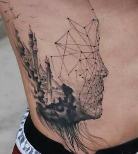 Stunning tattoo by Razvan Popescu